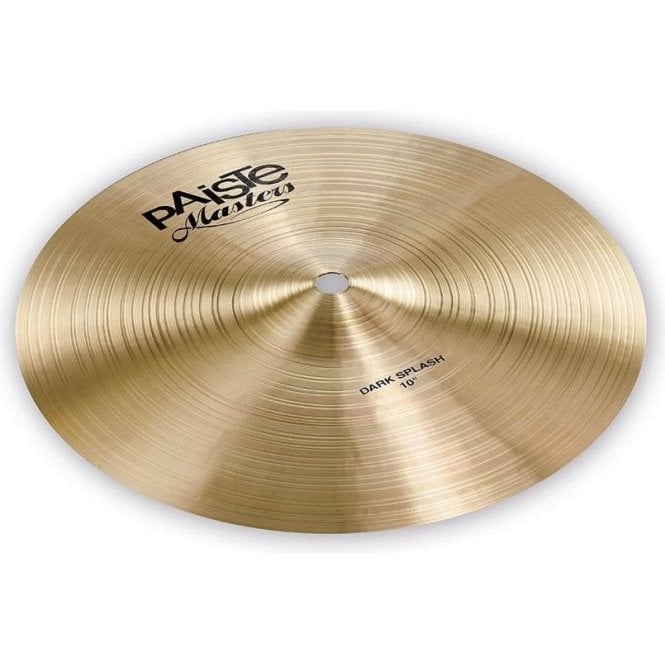 "Paiste Masters 10"" Dark Splash Cymbal PMSTRDSPL10 