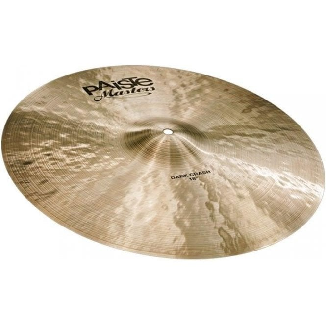 "Paiste Masters 19"" Dark Crash Cymbal PMSTRDCR19 