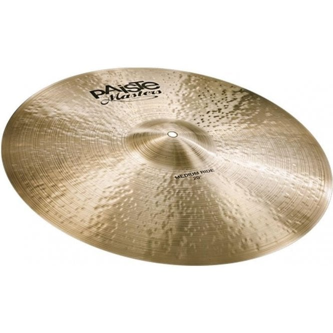 "Paiste Masters 20"" Medium Ride Cymbal PMSTRMEDR20 