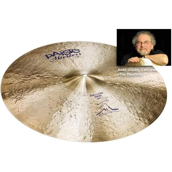 "Paiste Masters 20"" Mellow Ride Cymbal PMSTRBBIRD20 
