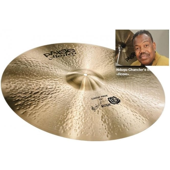 "Paiste Masters 22"" Crisp Ride Cymbal PMSTRROSIE22 
