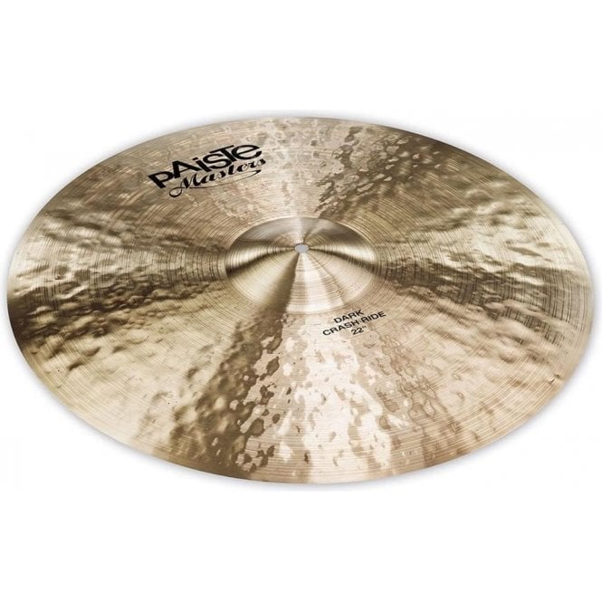 "Paiste Masters 22"" Dark Crash Ride Cymbal PMSTRCRSRDE22 