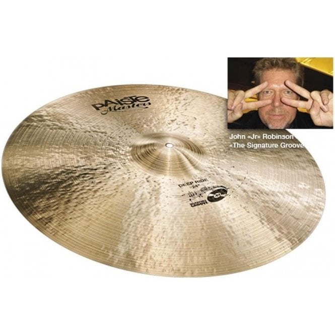 "Paiste Masters 24"" Deep Ride Cymbal"