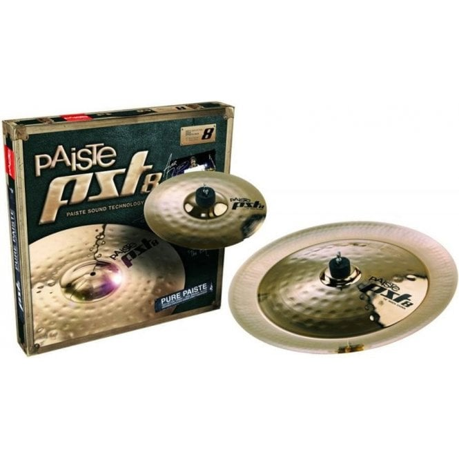 Paiste PST 8 Reflector Rock Effects Pack (10/18) PST8BS2RFX | Buy at Footesmusic