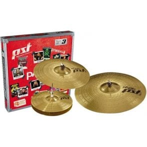 Paiste PST3 Universal Cymbal Set PST3BS314 | Buy at Footesmusic