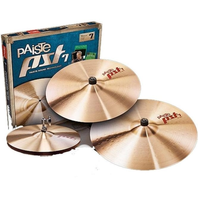 Paiste PST7 Cymbal Set (14/16/20) PST7BS3MED | Buy at Footesmusic