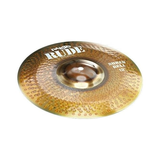 """Paiste Rude 12"""" Shred Bell Cymbal"""