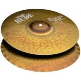 "Paiste Rude 14"" Sound Edge Hi Hat Cymbals"