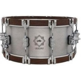 PDP by DW 14x6.5 Aluminium Wood Hoop Snare PDSN6514CSAL | Buy at Footesmusic