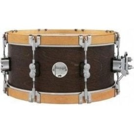 PDP by DW 14x6.5 Walnut With Wood Hoop Snare PDCC6514SSWN | Buy at Footesmusic