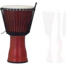 "Pearl 10"" Djembe Rope Tuned Molten Scarlet Finish PBJVR10699 