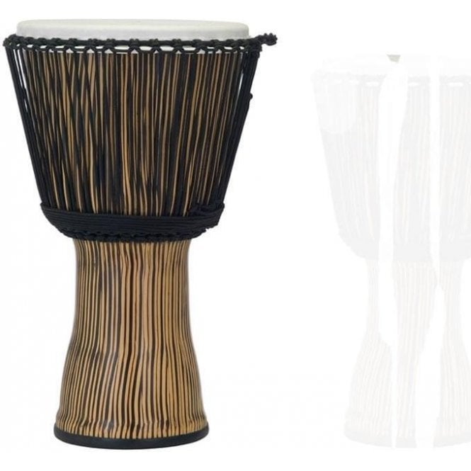"Pearl 10"" Djembe Rope Tuned - Zebra Grass Finish"