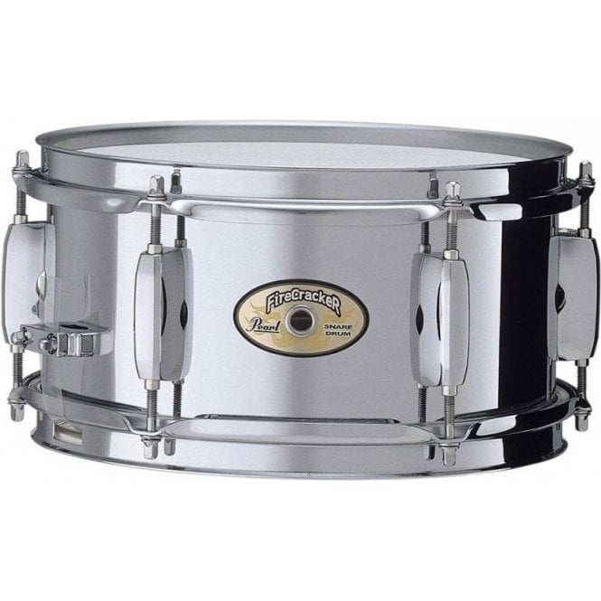 Pearl 10x5 Fire Cracker Steel Snare Drum FCS1050 | Buy at Footesmusic