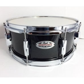Pearl 13x5.5 Midtown Snare Drum Black Sparkle