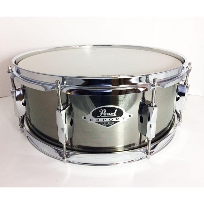Pearl 14x5.5 Export Snare Drum Smokey Chrome EXX1455SC21 | Buy at Footesmusic