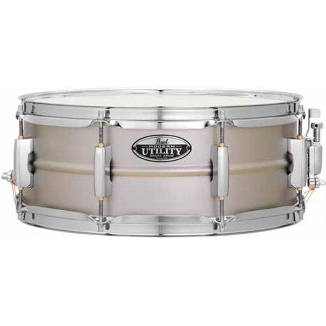 Pearl 14x5.5 Modern Utlility Steel Snare Drum MUS1455S | Buy at Footesmusic