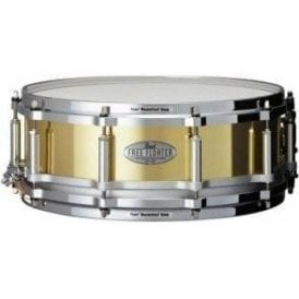 Pearl 14x5 Task Specific Brass Free Floating Shell Snare Drum