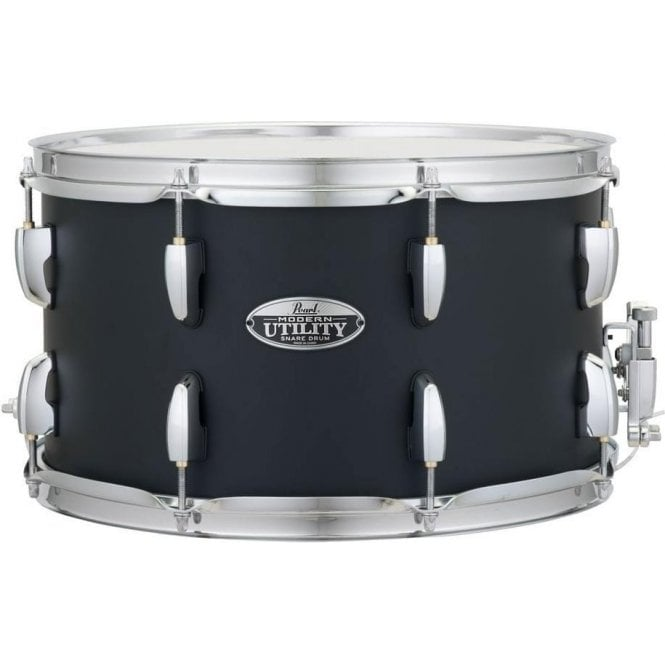 Pearl 14x8 Modern Utlility Snare Drum - Black Ice Finish