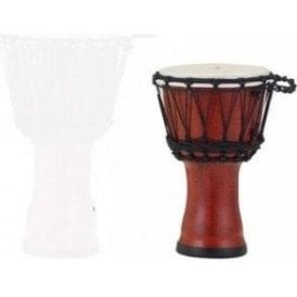 "Pearl 7"" Djembe Rope Tuned - Molten Scarlet Finish"