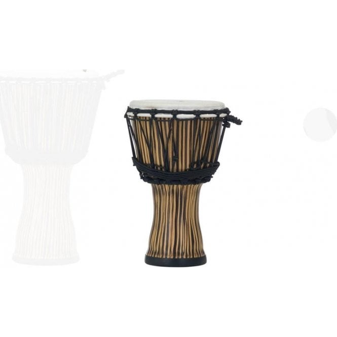 "Pearl 7"" Djembe Rope Tuned Zebra Grass Finish PBJVR7698 