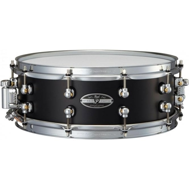 Pearl Hybrid Exotic 14x5 Cast Aluminium Snare Drums HEAL1450 | Buy at Footesmusic