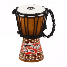 Meinl HDJ5XXS Mini Djembe Python Finish