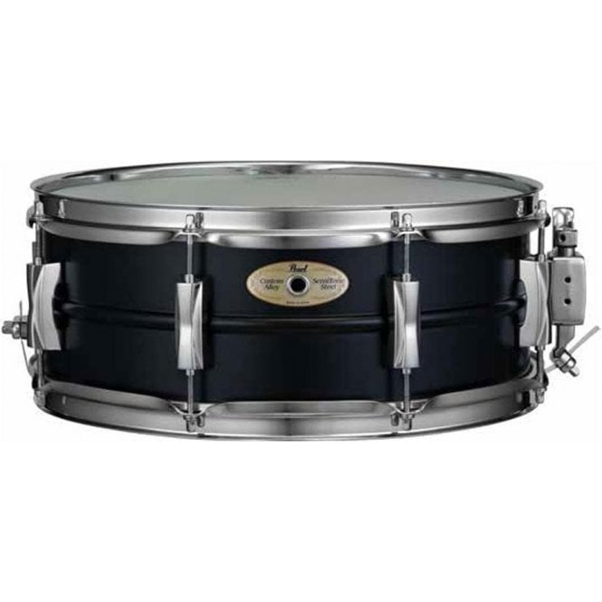 Pearl Sensitone Elite 14x5 Black Steel Limited Edition Snare Drum
