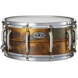 Pearl Sensitone Elite 14x6.5 Premium Brass Snare Drum