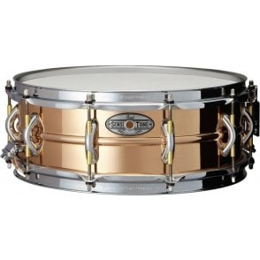 Pearl Sensitone Elite Phospher Bronze 14x5 Snare Drum STA1455PB | Buy at Footesmusic