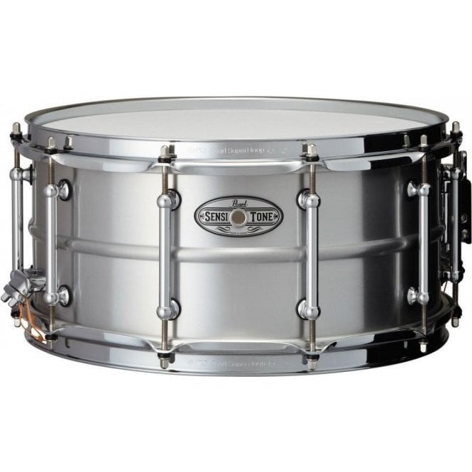 Pearl Sensitone Elite Seamless Aluminium 14x6.5 Snare Drum