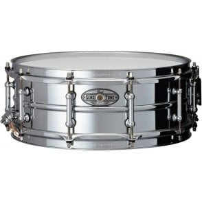 Pearl Sensitone Elite Steel 14x5 Snare Drum