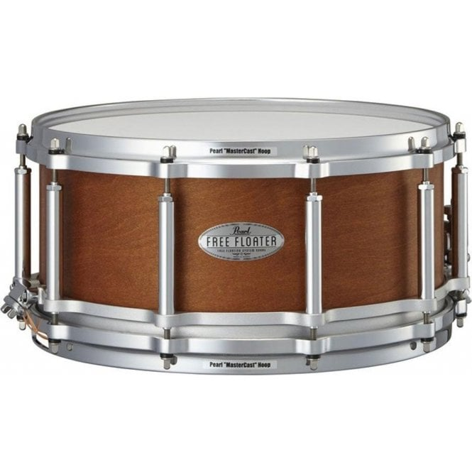 Pearl Task Specific 14x6.5 Free Floating Maple Mahogany Snare Drum
