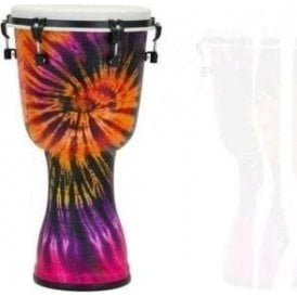 "Pearl Top Tuned 10"" Djembe - Purple Haze Finish"