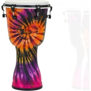 "Pearl Top Tuned 12"" Djembe Purple Haze Finish PBJV12696 