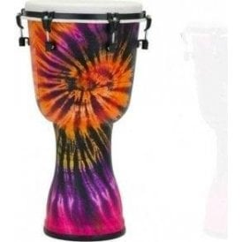"Pearl Top Tuned 14"" Djembe - Purple Haze Finish"
