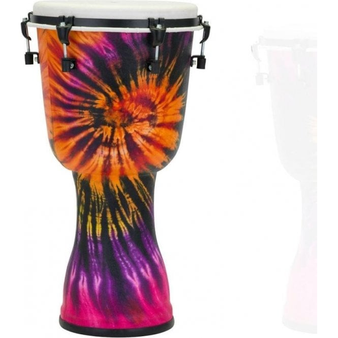 "Pearl Top Tuned 14"" Djembe Purple Haze Finish PBJV14696 