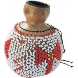 Traditional Natural Gourd Shekere - Caja (large)