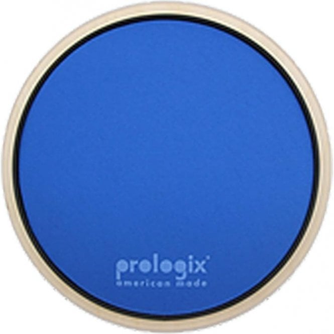 "Prologix LIGHTNINGPAD10 10"" Blue Lightning Practice Pad With Rim - Heavy Resistance"