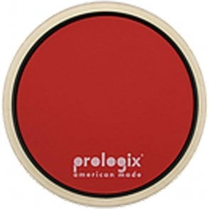"Prologix STORMPAD6 6"" Red Storm Practice Pad With Rim - Medium Resistance"