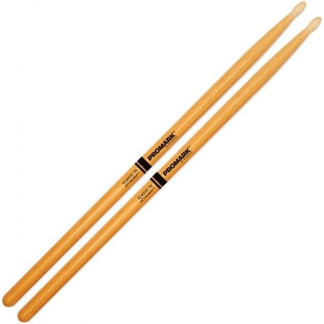 Promark Classic 7A ActiveGrip Clear Drum Sticks (pair)