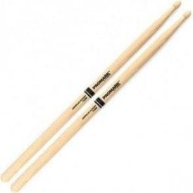 Promark Hickory 2B Wood Tip Drum Sticks (pair)