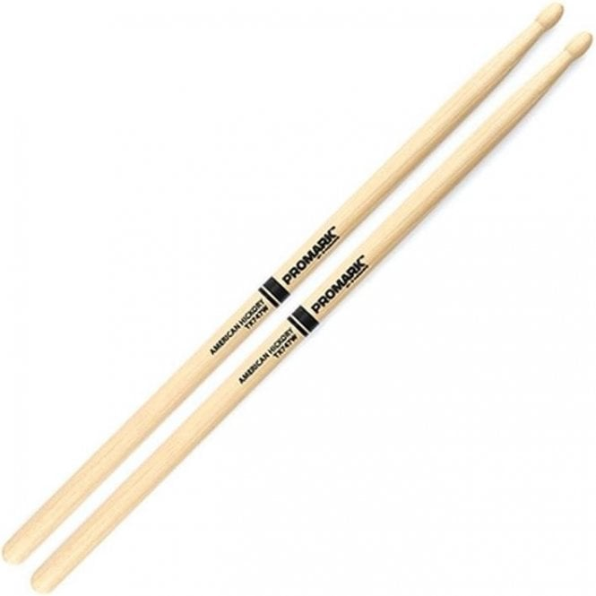 Promark Hickory 747 Wood Tip Drum Sticks (pair)