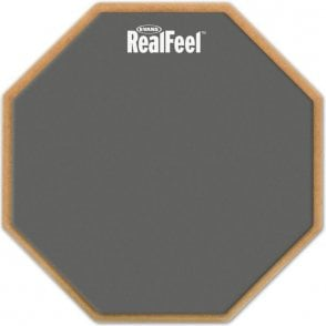 "Real Feel Single Sided 12"" Practice Pad"