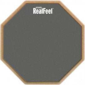 """Real Feel Single Sided 12"""" Practice Pad"""