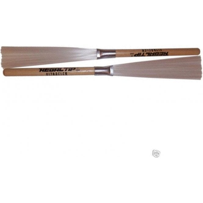 Regal Tip 565U Ultra Flex Nylon with Fixed Hickory Handle Brushes (pair)