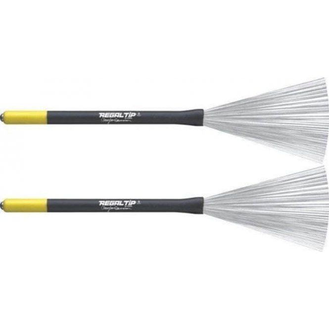 Regal Tip 593C Clayton Cameron - Fixed Wire Brushes (pair)