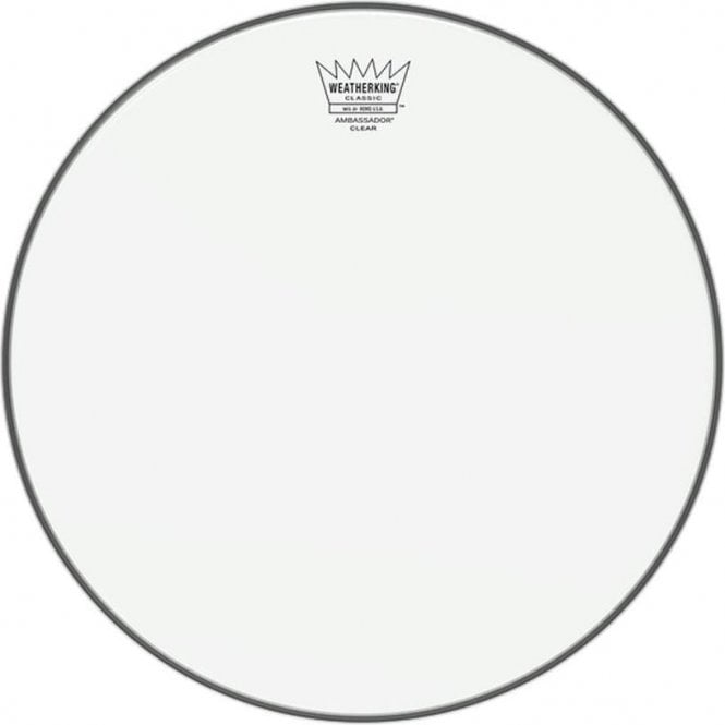 Remo Classic Fit Ambassador Clear Drum Heads