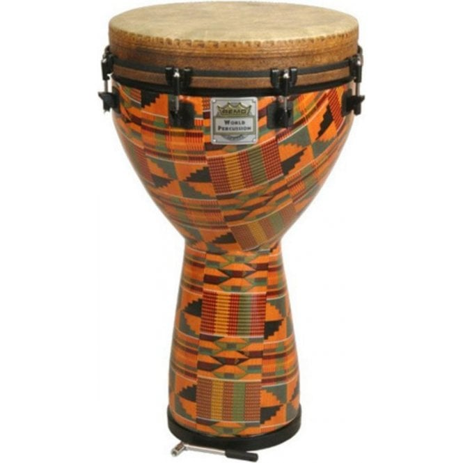 "Remo Djembe 10""x24"" Paulo Mattioli kintecloth Finish DJ0010PM 