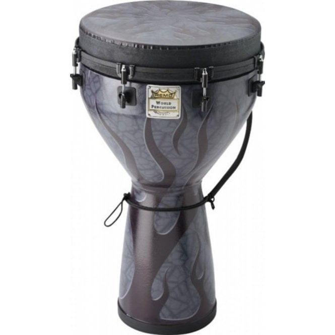 "Remo Djembe 14""x25"" Shadow Flame Finish"