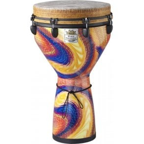 Remo Djembe Serpentine Day Finish DJ0014SD | Buy at Footesmusic
